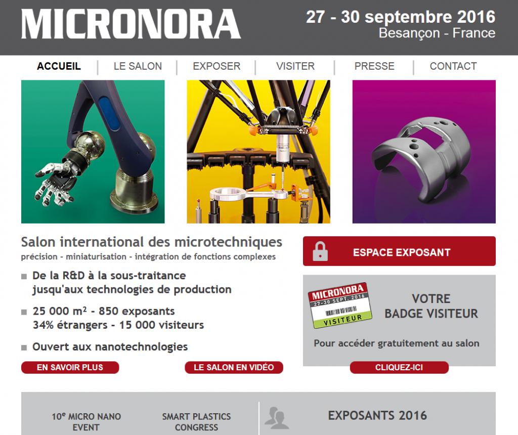 Micronora 2016